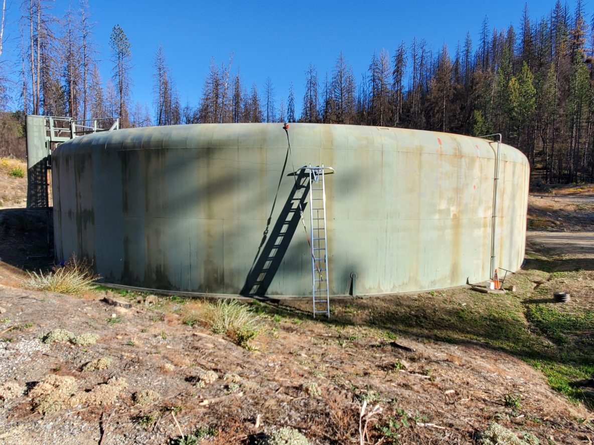 Brandy Creek wastewater storage tank